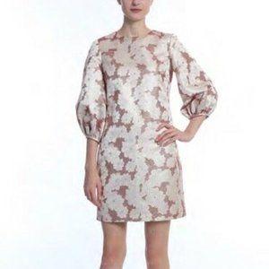 Badgley Mischka Tahlulah Puff Sleeve Dress